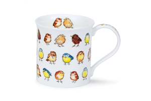 DUNOON PORCELAN SKODELICA LITTLE CHICKS BUTE
